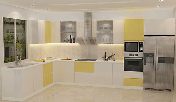 Indian Small Kitchen Interiors