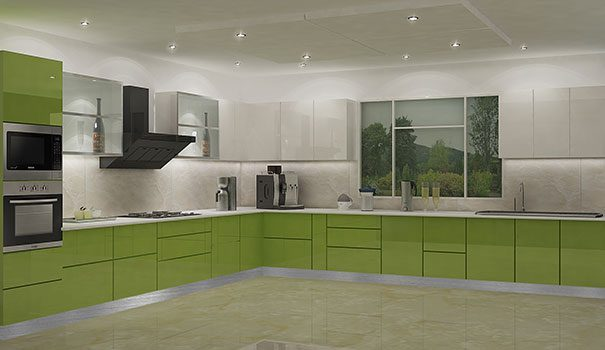 Acrylic Kitchen Cabinets – The Latest Indian Kitchen Design Style