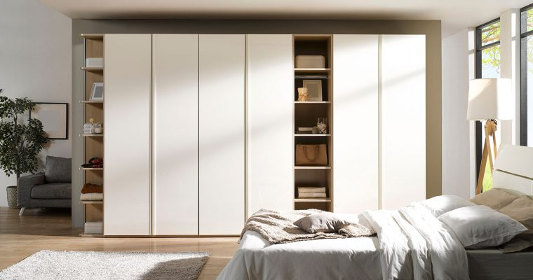 Make a Serious Statement with Smart Wardrobe Designs for Small Bedroom