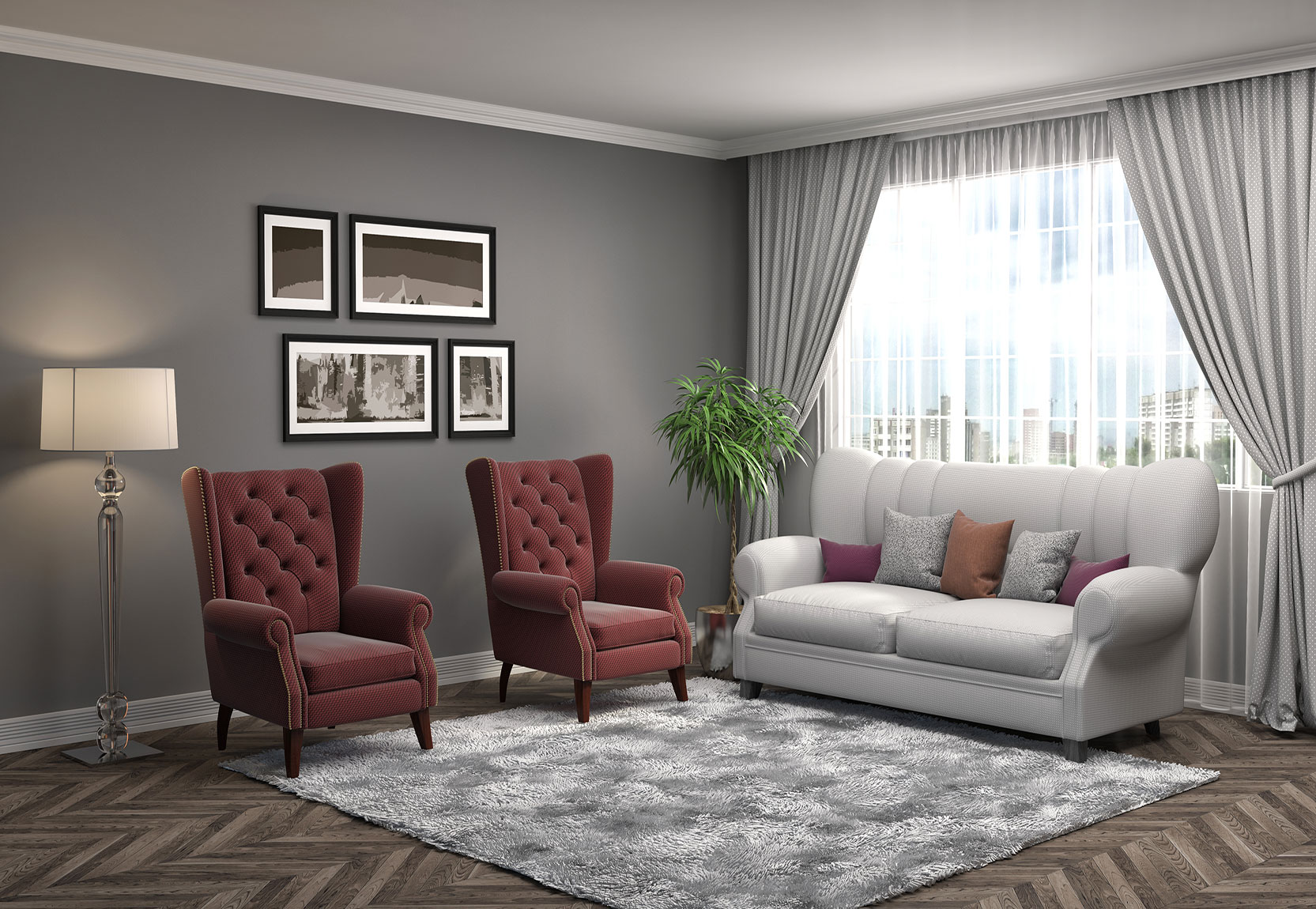 Rooms Colour Combination Needs to be Prioritized Giving Importance