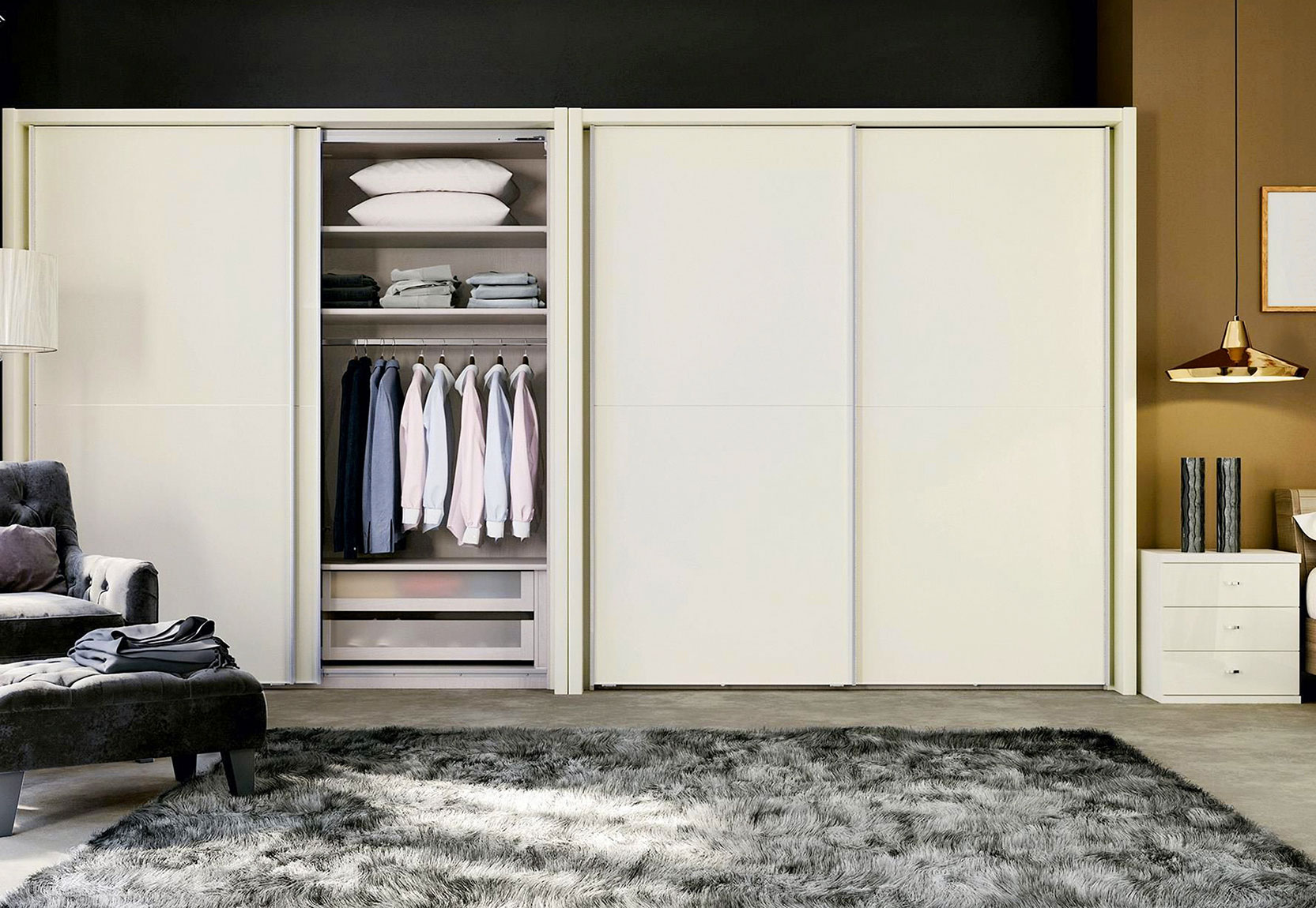 Wardrobe Design Ideas for Small Bedrooms India