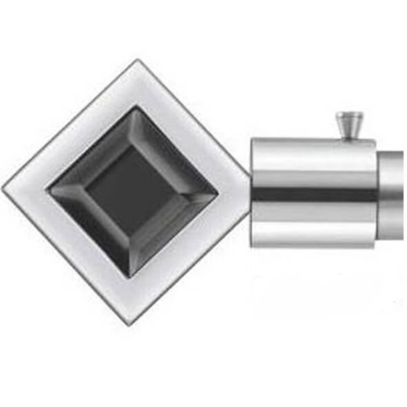 Square Black Finial - 043 Black