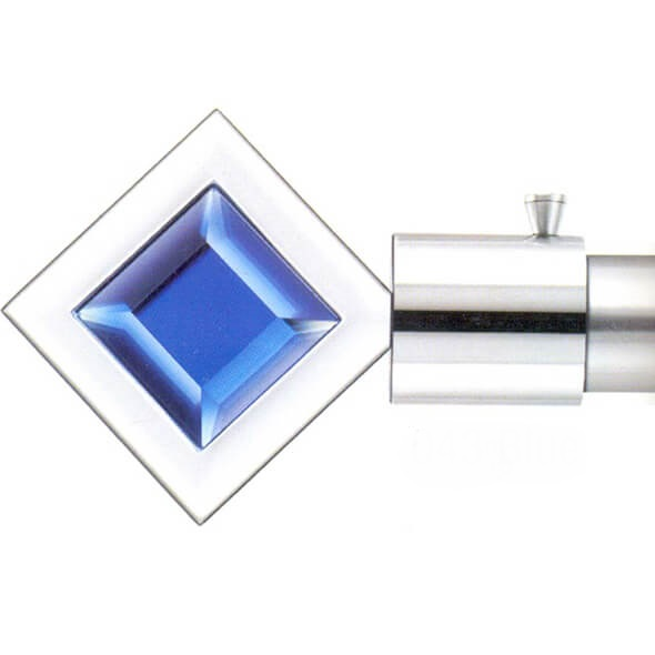 Square Blue Finial - 043 Blue