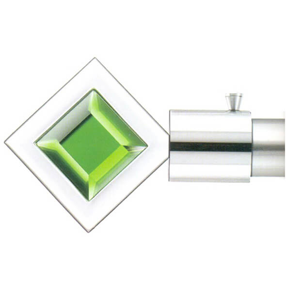 Square Green Finial - 043 Green
