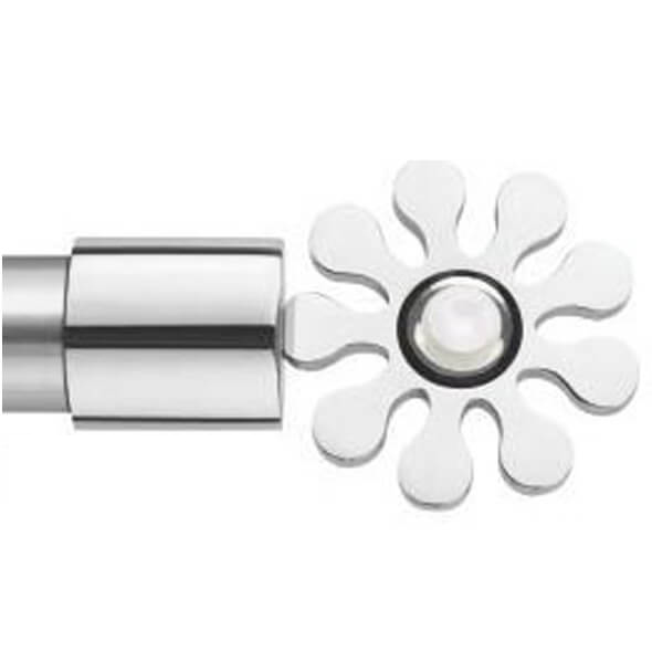 Clover White Finial - 067 White