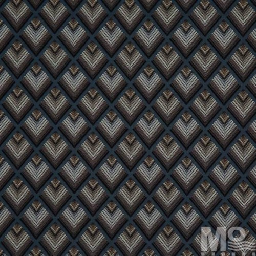 Blue Milden Fabric - 100024