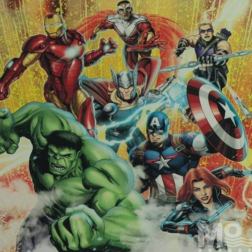 Avengers Red Fabric - 101606