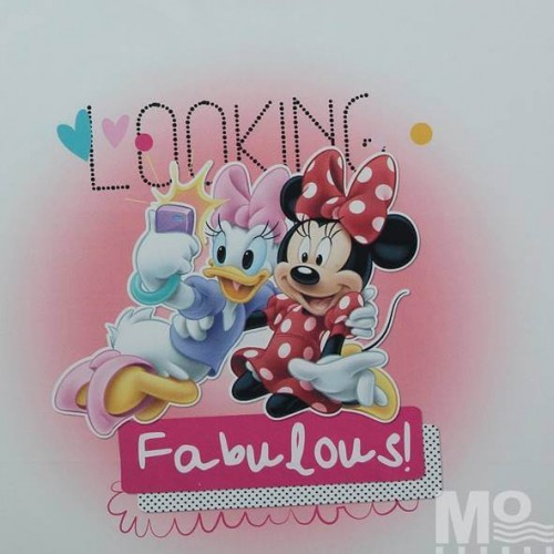 Minnie And Daisy Fabric - 101626