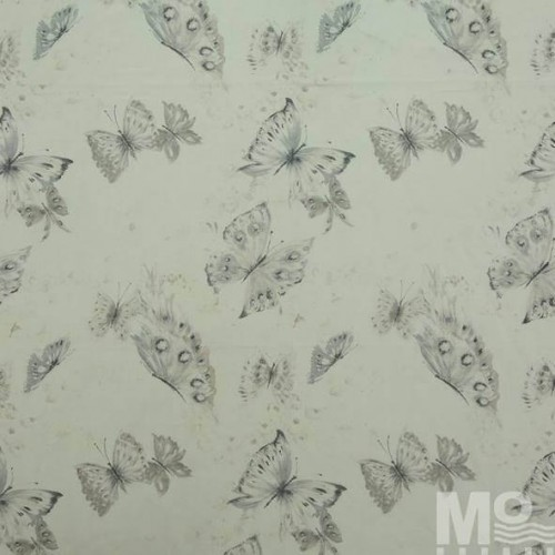 Grey Sindon Fabric - 102305
