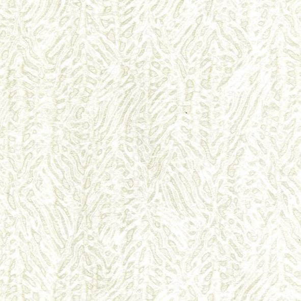 Moire White Fabric - 106298