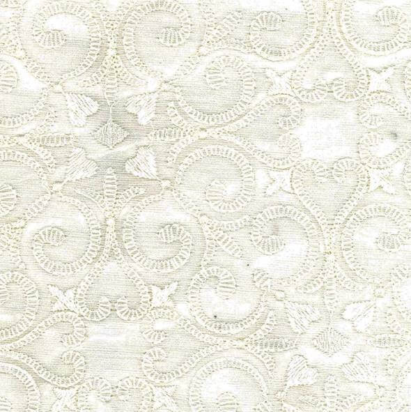 Dacron White Fabric - 106455