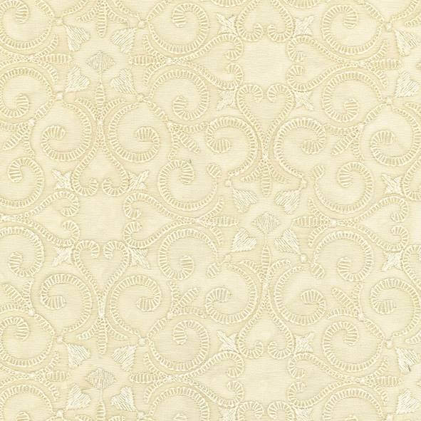 Dacron Cream Fabric - 106458