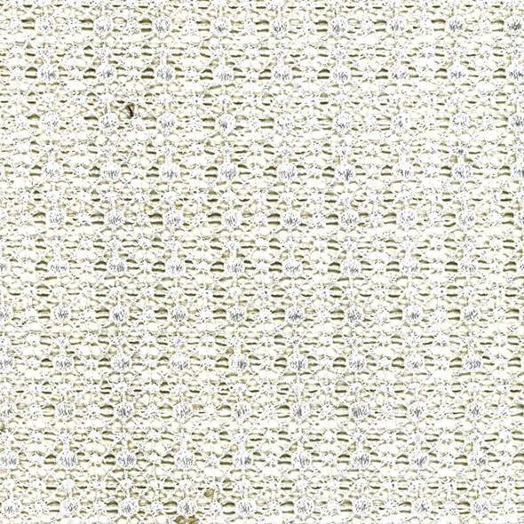 Lurex White Fabric - 106476