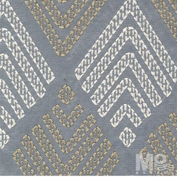 Moiree Grey Fabric - 106612