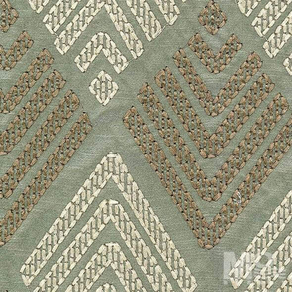 Moiree Olive Fabric - 106621
