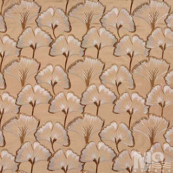 Lacey Golden Fabric - 106632