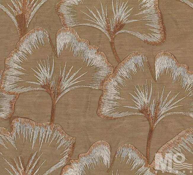 Lacey Saddlebrown Fabric - 106648