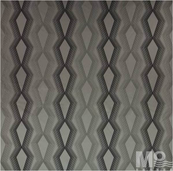 Grey Bayadere Fabric - 106720