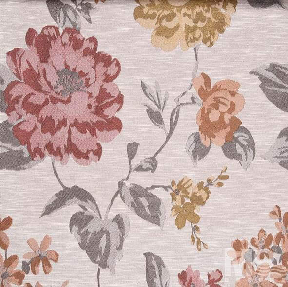 Galatea Salmon Fabric - 106759