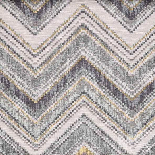Kente Silver Fabric - 106762