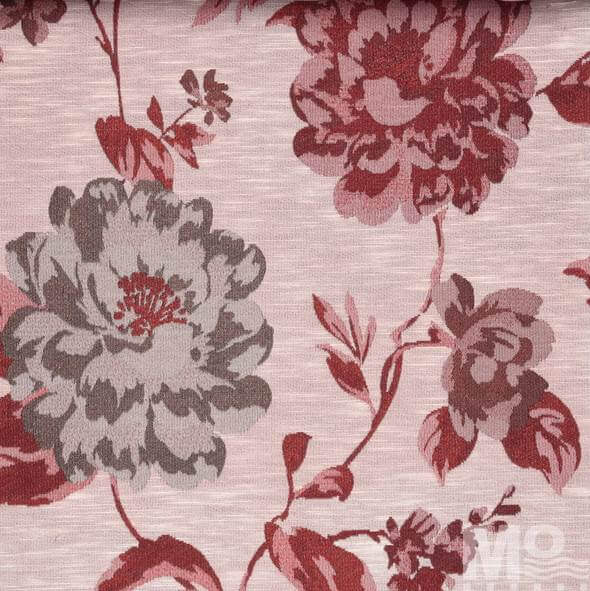 Galatea Red Fabric - 106776
