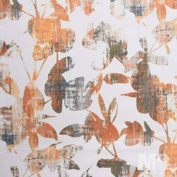 Rabanna Orange Fabric - 107159