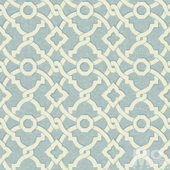 Geometrique Blue Wallpaper - 15446