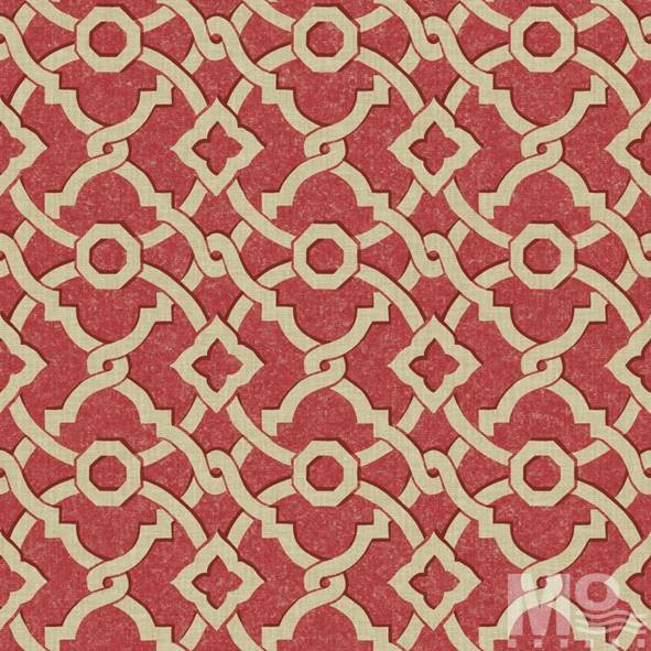 Geometrique Red Wallpaper - 15454