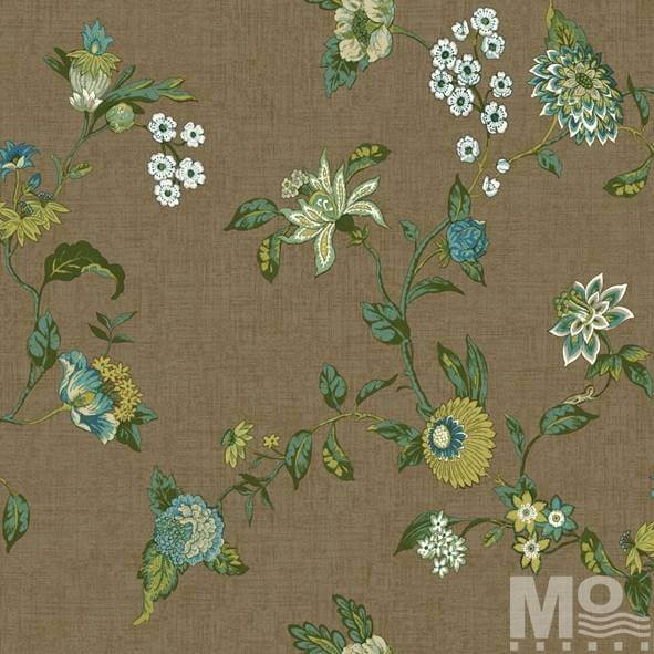 Fleur Brown Wallpaper - 15463