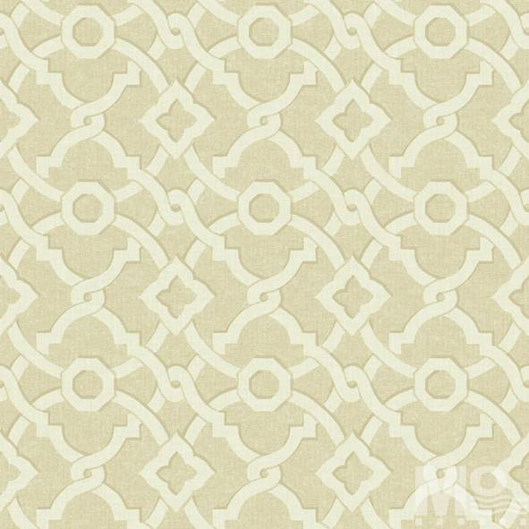 Geometrique Cross Line Beige Wallpaper - 15518