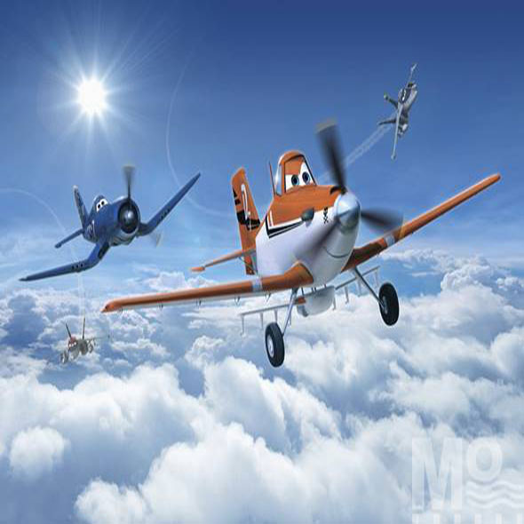Planes Above The Clouds Wallposter - 19588