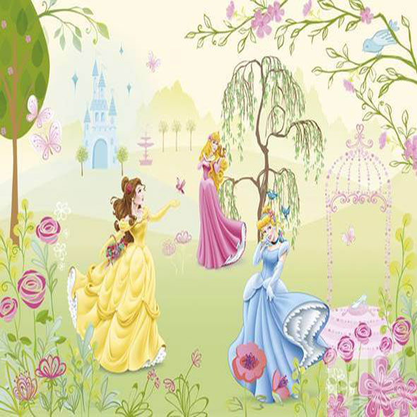 Princess Garden Wallposter - 19601