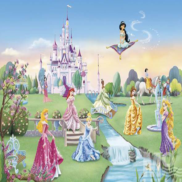 Princess Castle Wallposter - 19602