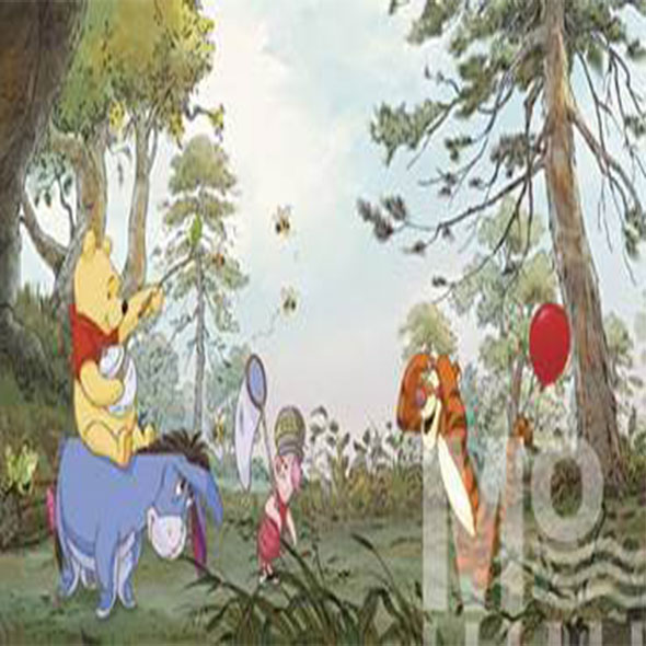 Pooh House Wallposter - 19607