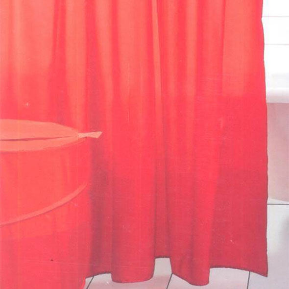 Orange Shower Curtain - 34443
