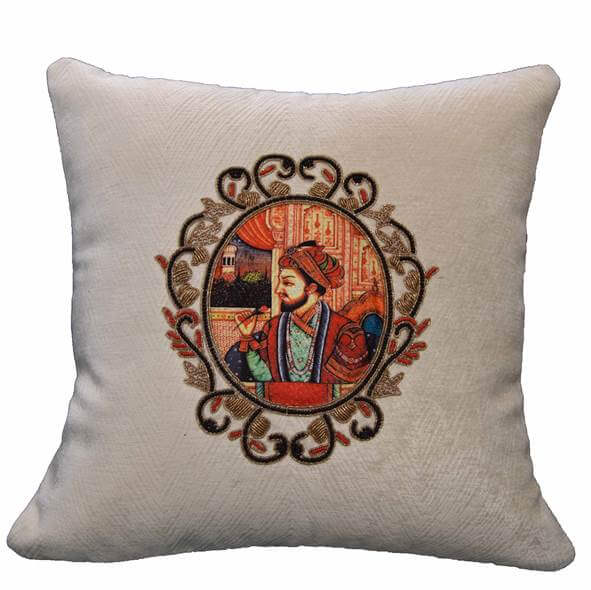 King Embroidery Cushion Cover - 36853