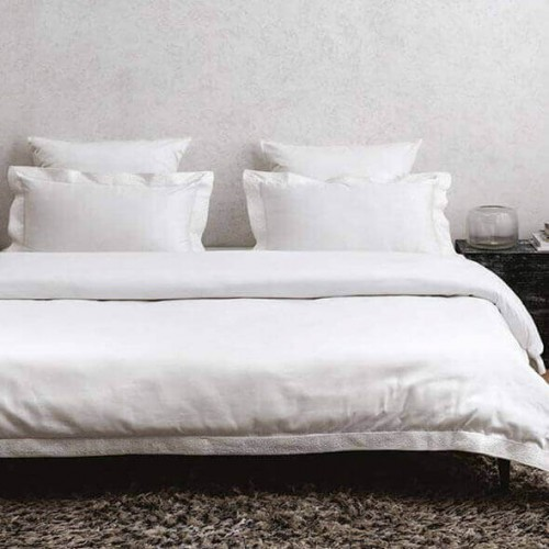 Elite White Bedsheet-38720