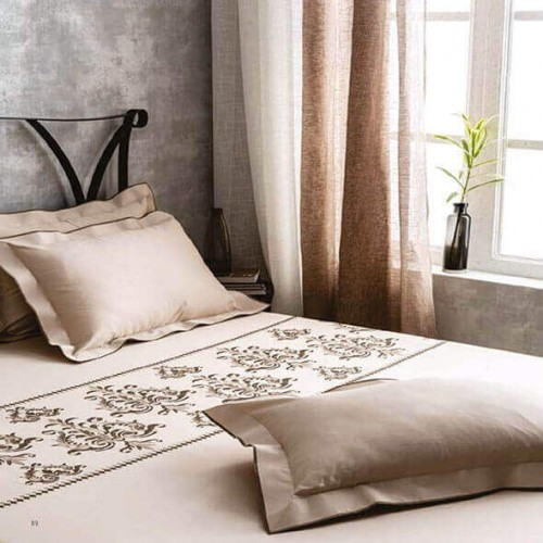 Luxury Retreat Chocolate Bedsheet-38766