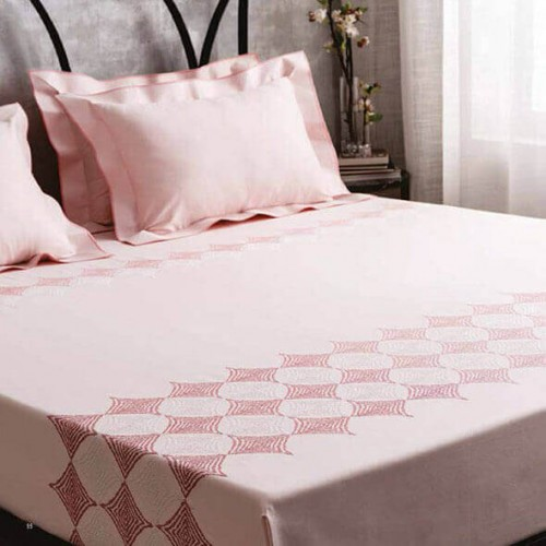 Modern Purity Soft Pink Bedsheet-38771
