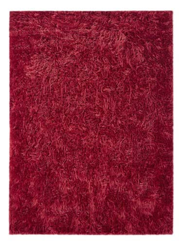 Sheepwool Maroon Carpet - 78897