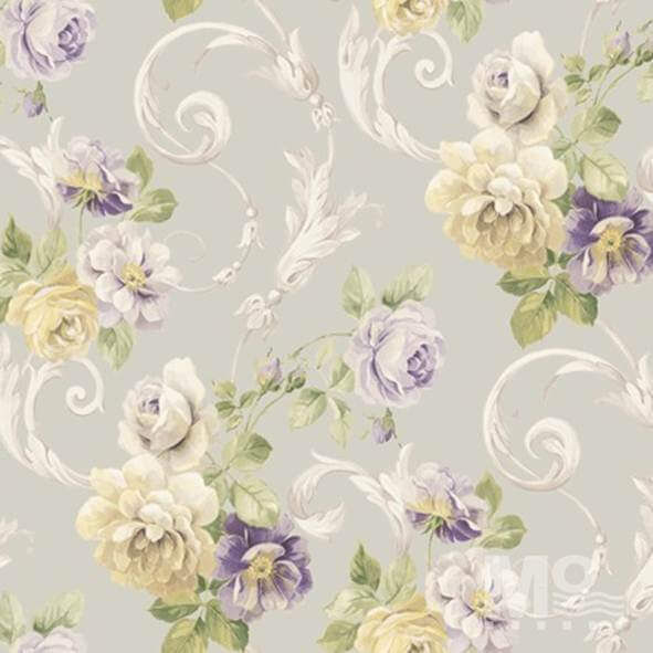 Vinerose Beige Wallpaper - 84031