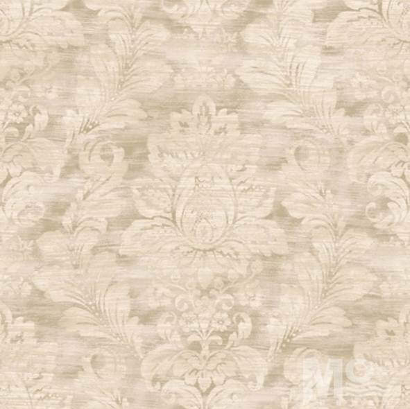 Camilla Leaf Cream Wallpaper - 84039