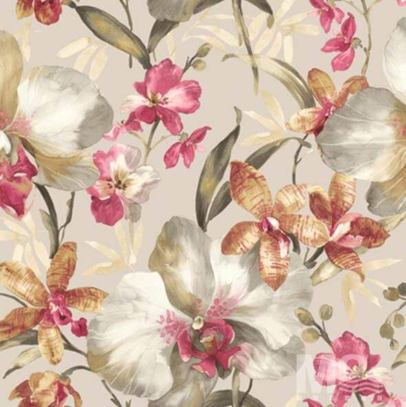 Camilla Rose Gold Wallpaper - 84042