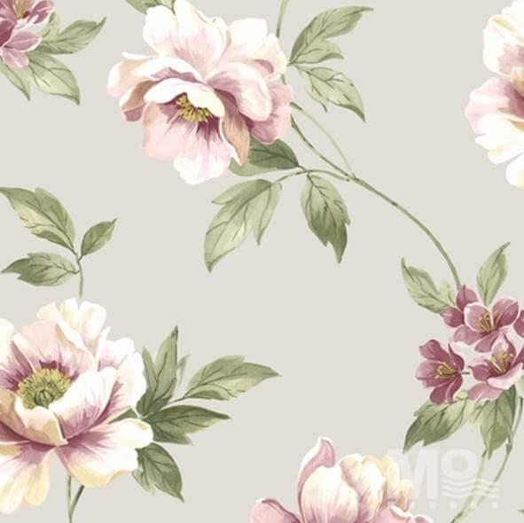 Rose Wild Grey Wallpaper - 84044