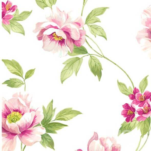 Wild Rose Pink Wallpaper - 84046