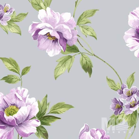 Wild Rose Light Purple Wallpaper - 84053