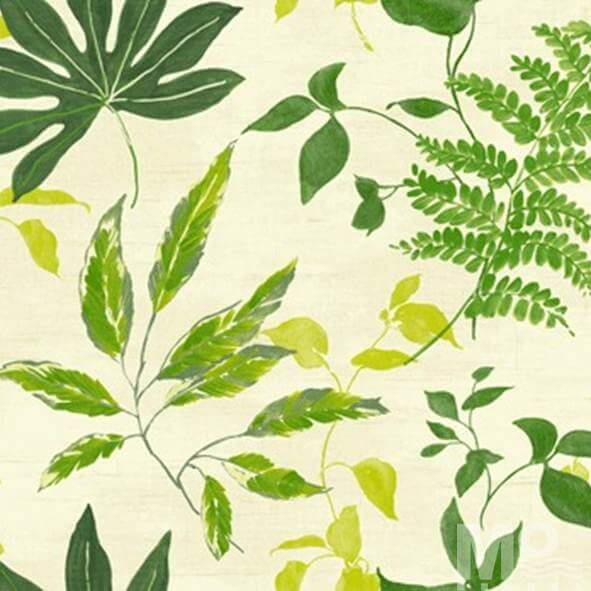 Leaf Leisure Green Wallpaper - 84059