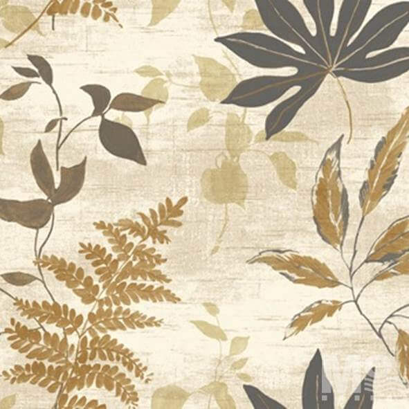 Leaf Leisure Beige Wallpaper - 84061
