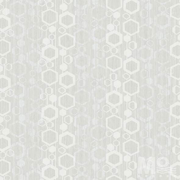 Geometric Glimmer Grey Wallpaper-84064