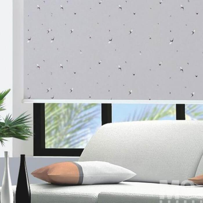Atlantic Grey Blind - 900098